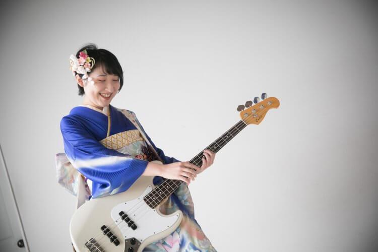 振袖 ギター